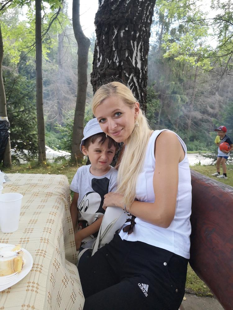 Náš člen Adamko s maminou